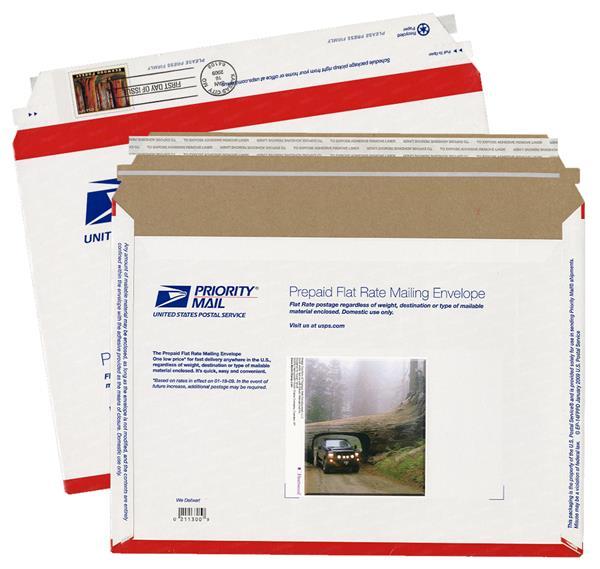 2009 4.95 Redwood Forest, stamped env.