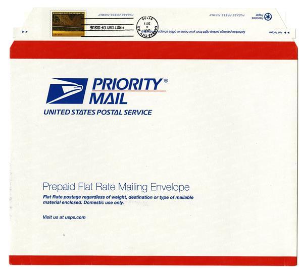2010 $4.90 Mackinac Bridge stamped envel
