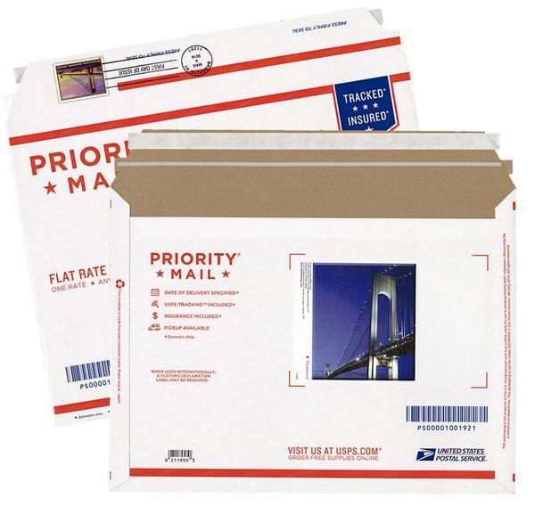 2014 $5.60 Priority stamped envelope