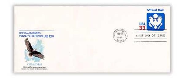 1999 33c Official Mail PSE FDC