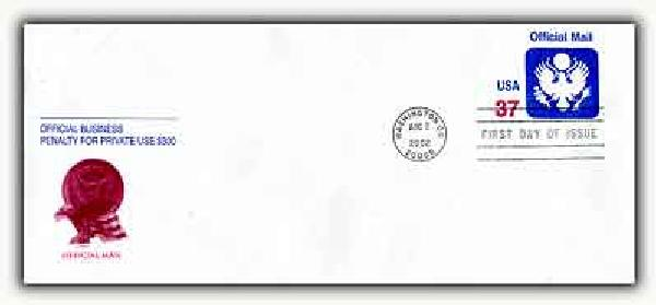 2002 37c Official Mail PSE FDC
