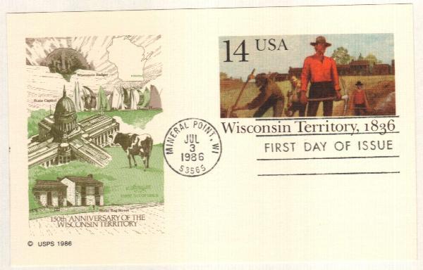 14c 1986 Wisconsin Terr.
