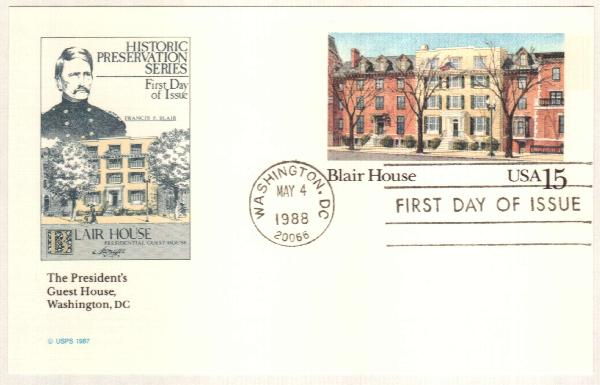 1988 15c Blair House