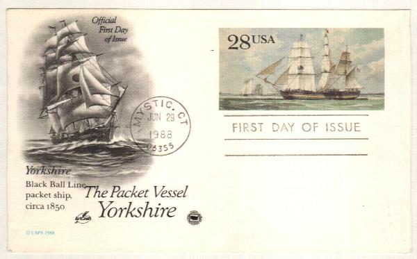 28c 1988 Yorkshire