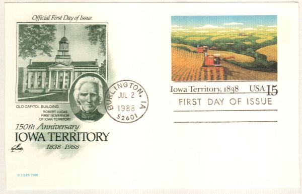 15c 1988 Iowa Terr.