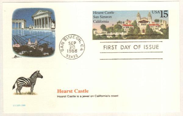 15c 1988 Hearst Castle