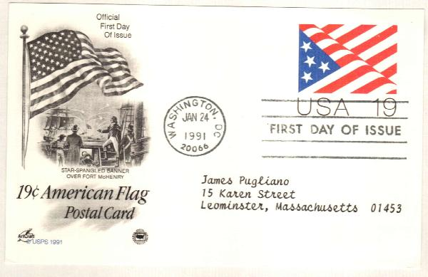 1991, 19c Flag