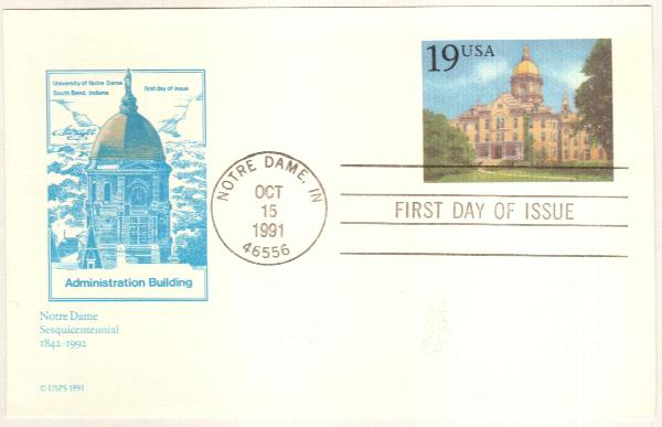 1991 Notre Dame Admin. Bldg.