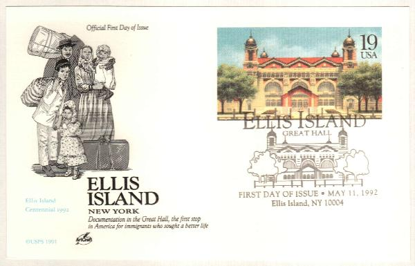 1992 Great Hall,Ellis Island