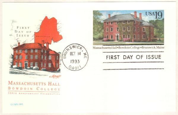 1993 Postal C. Mass. Hall
