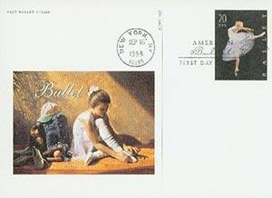1998 20c Ballet PC FDC