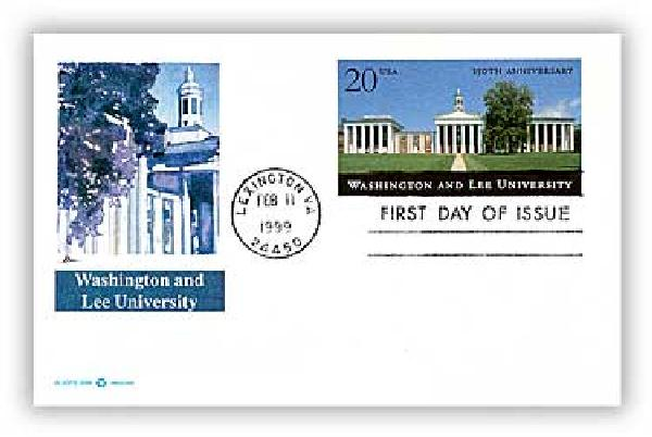 1999 20c Washington & Lee PC FDC