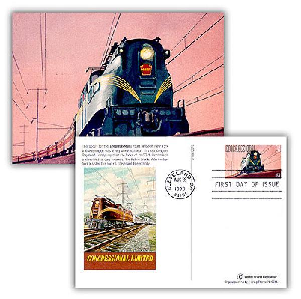 1999 Congressional Combination Postal Card