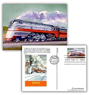 1999 Hiawatha Combination Postal Card