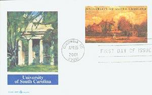 UX362 2001 20c Univ of South Carolina