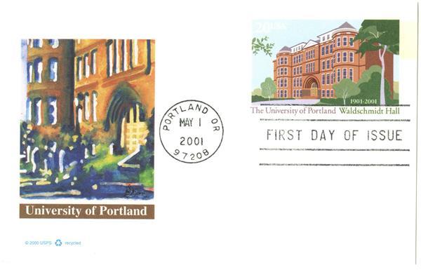 2001 20c University of Portland PC