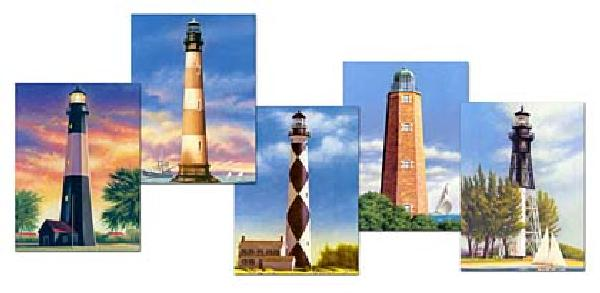 2003 23c Southeastern Lighthouses PC FDC Set