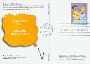 2006 Cinderlla & Prince Charming PC FDC