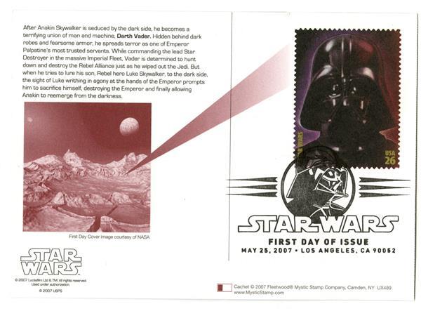 2007 26c Star Wars-Darth Vader