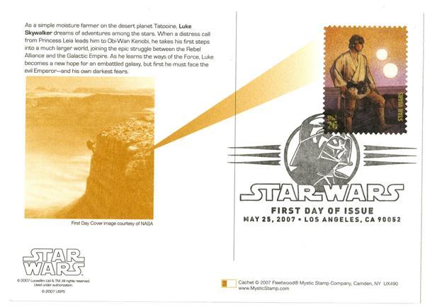 2007 26c Star Wars-Luke Skywalker