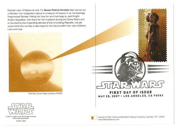 2007 26c Star Wars-Queen Padme Amidala