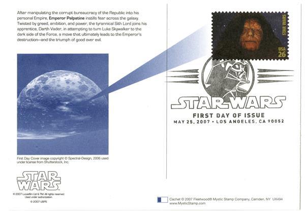 2007 26c Star Wars-Emperor Palpatine