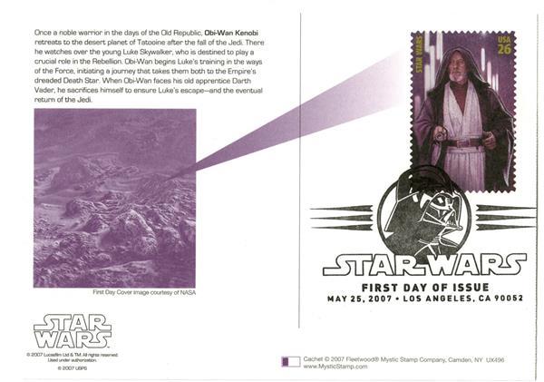 2007 26c Star Wars-Obi-Wan Kenobi