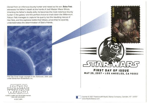 2006 26c Star Wars-Boba Fett