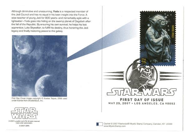 2007 26c Star Wars-Yoda