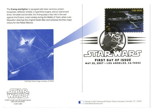 2007 26c Star Wars-X-wing Starfighter