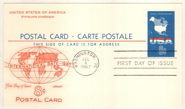 1967 8c USA