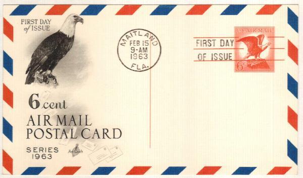6c 1963 Bald Eagle