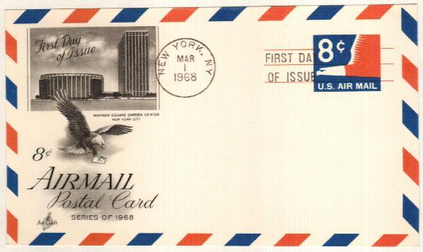 8c 1968 Eagle