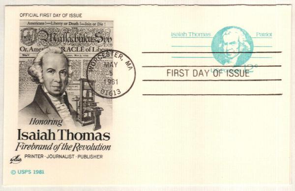 1981 12c Isaiah Thomas