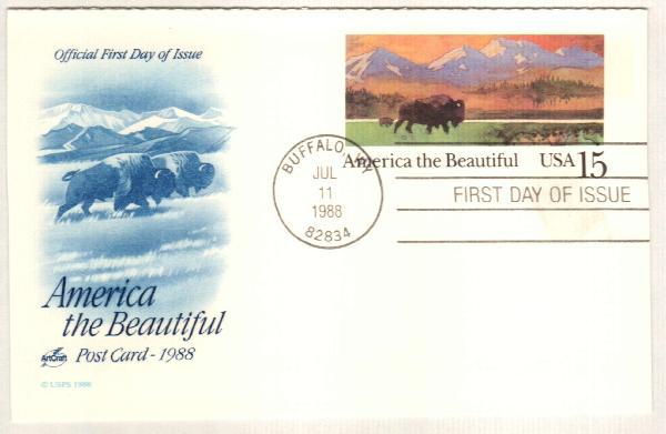 1988 15c America the Beautiful