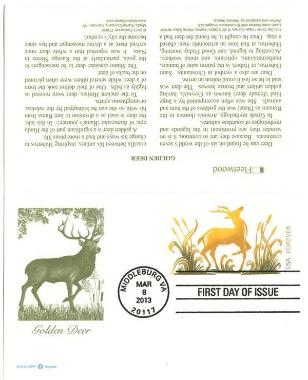 2013 33c Golden Deer PC - Dbl Reply