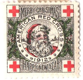 1912 American Red Cross Christmas Seal