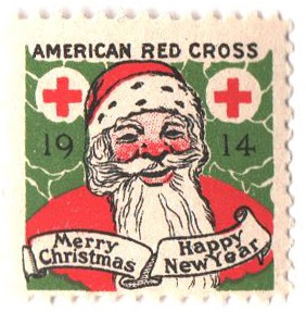1914 American Red Cross Christmas Seal