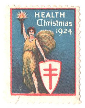 1924 National Tuberculosis Assn. Christmas Seal