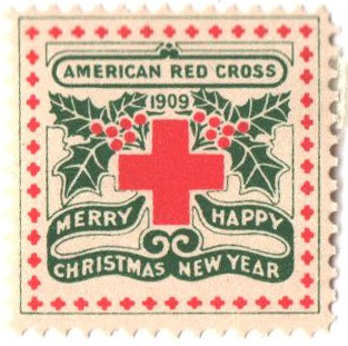 1909 American Red Cross Christmas Seal