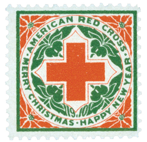 1910 American Red Cross Christmas Seal