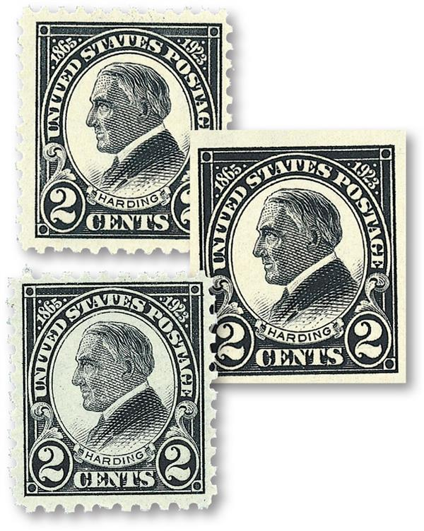 1923 Complete Commemorative Year Set, 3 Stamps