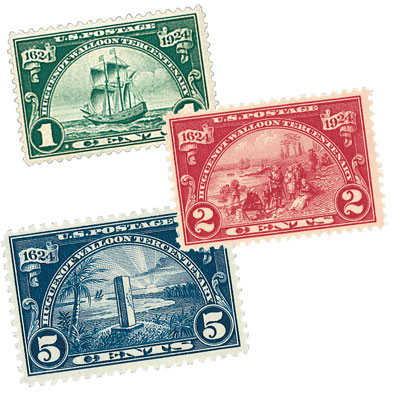 1924 Commemorative Stamp Year Set