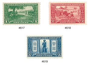 1925 Commemorative Stamp Year Set