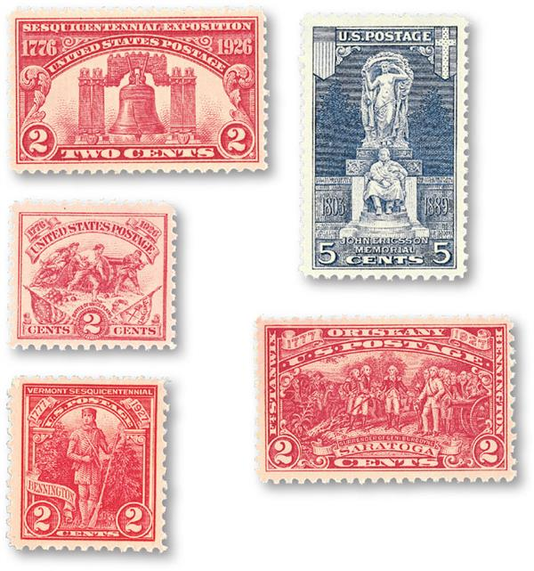 1926-27 Commemorative Stamp Year Set