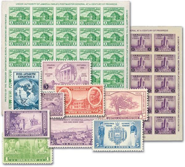 1935-36 Complete Commemorative Year Set