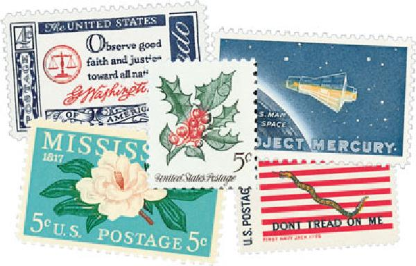 1960s Commemoratives, 194 stamps