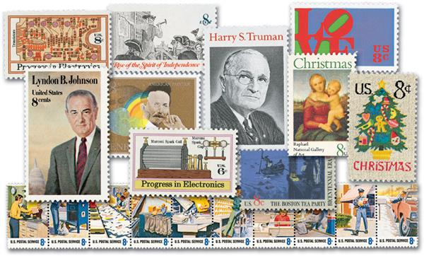 1973 Complete Commemorative Year Set, 32 stamps