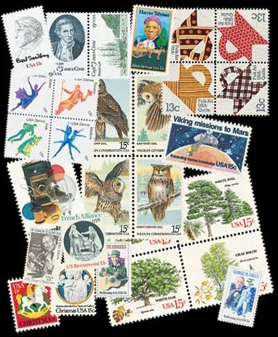 1978 Commemorative Stamp Year Set