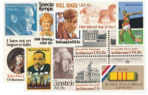 1979 Commemorative Stamp Year Set